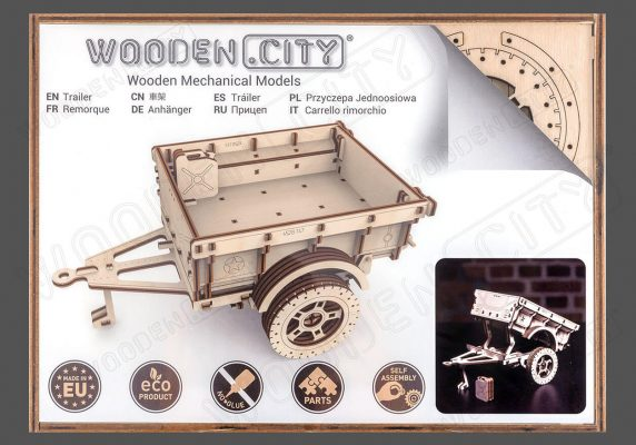 Trailer for 4×4 – WOODEN CITY