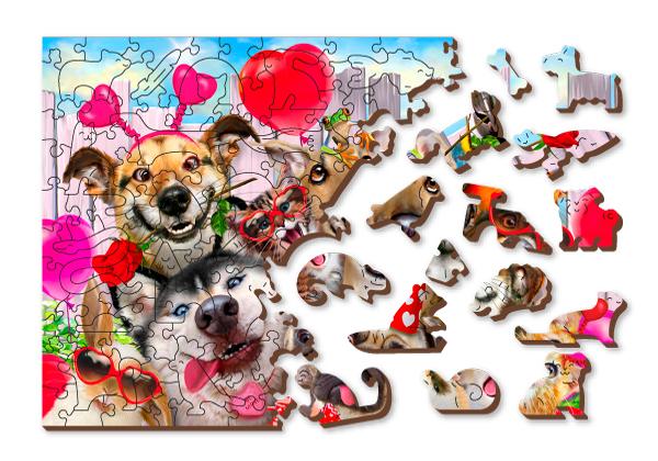 drewniane puzzle, puzzle drewna, puzzle drewniane