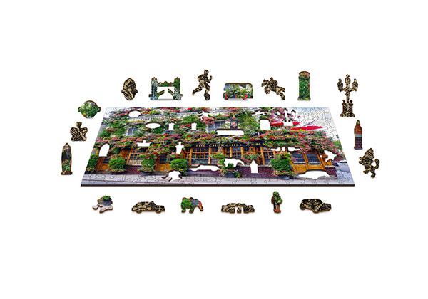 zabawki drewniane, ravensburger puzzle